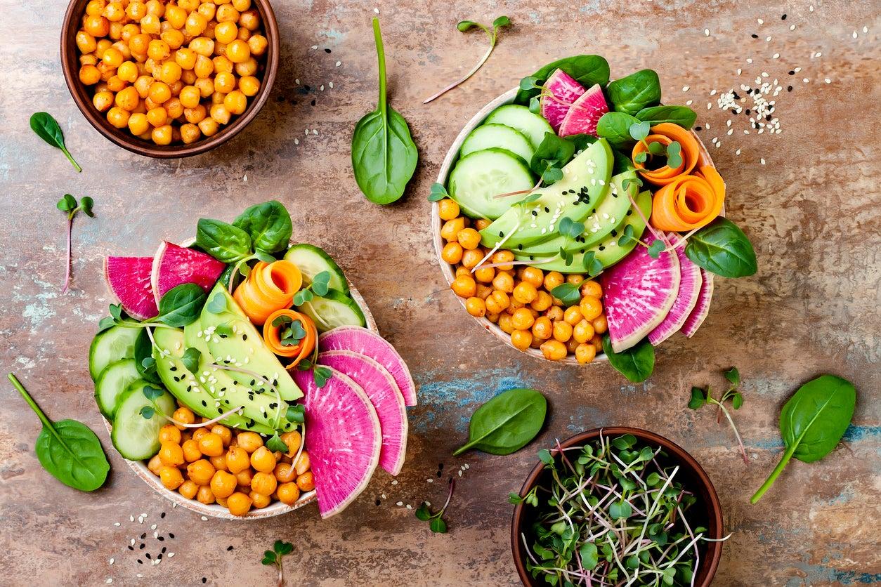 Alimentos Veganos Fáciles